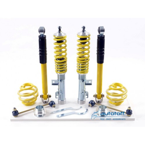 Suspensie sport VW Golf 4 1J 4motion (1997-2003) reglabila pe inaltime si duritate