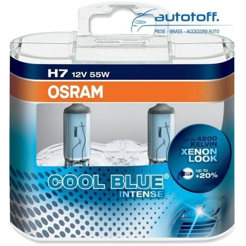 Becuri H7 COOL BLUE INTENSE Duo Box 64210CBI-HCB