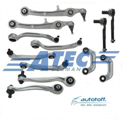 Kit brate Audi Allroad A6 4F - 12 piese fata